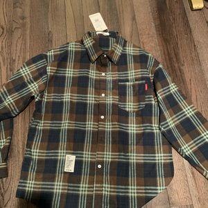 Other - Men's US Large Chool Brown/Black/Blue Flannel